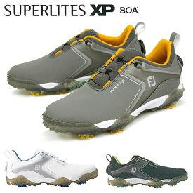 FOOTJOY(フットジョイ)日本正規品 SUPERLITES XP BOA(スーパーライトエックスピーボア) 2021新製品 ソフトスパイクメンズゴルフシューズ 【あす楽対応】
