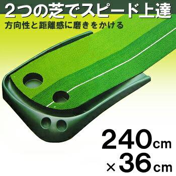 TABATA(タバタ)2wayパターマットライン入りGV−0126「ゴルフ練習用品」