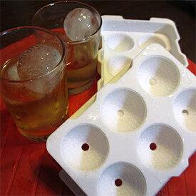 【【最大4999円OFFクーポン】】ゴルフボール型の氷を作れるゴルフボール製氷皿氷6個作成用