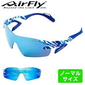 【【最大3300円OFFクーポン】】ZYGOSPEC(ジゴスペック) AirFly(エアフライ) ノーズパッドレススポーツサングラス BLUE CAMOUFLAGE 「AF-301(ノーマルサイズ) C-4 ブルーカモフラージュ」
