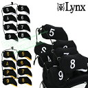 Lynx(リンクス)アイアンヘッドカバー8個セット(#5〜9、P、A、S)【あす楽対応】