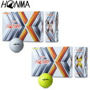 HONMA GOLF(本間ゴルフ)日本正規品 T//WORLD (ツアーワールド) TW-X ゴルフボール1ダース(12個入) 2019モデル 「BT-1908」 【あす楽対応】