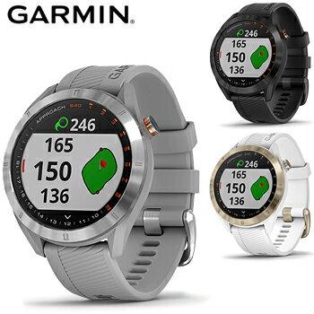 GARMIN(ガーミン)日本正規品スマートウォッチ機能搭載距離測定器腕時計型GPSゴルフナビAPPROACH(アプローチ)S40「010-02140」2019新製品【あす楽対応】