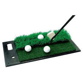 DAIYA GOLF(ダイヤゴルフ)日本正規品 2WAY実戦練習マット(アプローチ用) 「TR-408」 「ゴルフアプローチ練習用品」 【あす楽対応】