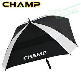 【【最大3000円OFFクーポン】】CHAMP(チャンプ日本正規品)Hurricane Umbrella(ハリケーンアンブレラ)62インチスクエアダブルキャノピーゴルフ傘「68113」【あす楽対応】