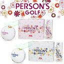 2016モデルPERSON'S GOLF(パーソンズゴルフ)2PC RUVIXゴルフボール1ダース(12個入)【あす楽対応】