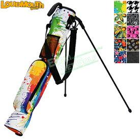 LOUDMOUTH GOLF(ラウドマウス ゴルフ)日本正規品 セルフスタンドバッグ 「LM-CC0004」 【あす楽対応】