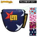 【2020春夏新色】 LOUDMOUTH GOLF(ラウドマウス ゴルフ)日本正規品 マレットタイプ用パターカバー 「LM-HC0008/MT」 …