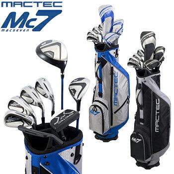 Macgregor(マグレガー)日本正規品 MACTEC Mc7(マックテック マックセブン) ゴルフクラブセット クラブ7本セット(DW、UT、I#7、I#9、W、S、パター)+スタンドバッグ【あす楽対応】
