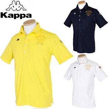 【【楽天CARD&エントリーで最大P12倍】】KAPPA GOLF カッパゴルフ 春夏ウエア 半袖シャツ KG812SS53 【あす楽対応】