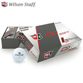 【【最大3000円OFFクーポン】】Wilson Staff(ウィルソンスタッフ)日本正規品 DX2 SOFT ゴルフボール1ダース(12個入り) 2018モデル 「37330」【あす楽対応】