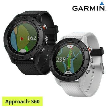 【【最大5140円OFFクーポン】】ガーミン(GARMIN)日本正規品高性能GPS距離測定器腕時計型GPSゴルフナビAPPROACH(アプローチ) S60スタンダードモデル「010-01702」【あす楽対応】