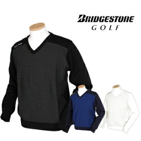 BridgestoneGolf ブリヂストンゴルフ TOUR B 秋冬ウエア 長袖Vネックセーター 1GJM2B 【あす楽対応】