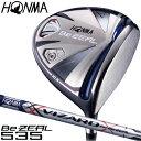 【【最大2900円OFFクーポン】】HONMA GOLF(本間ゴルフ)日本正規品 Be ZEAL535(ビジール535) ドライバー 2018モデル VI…