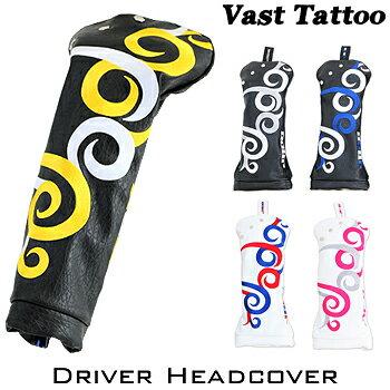 【【最大2222円OFFクーポン】】JADO(ジャド)Vast Tattoo(ヴァストタトゥー)シリーズドライバー用ヘッドカバー「JGHC7871D」【あす楽対応】