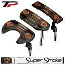 テーラーメイド日本正規品 TP COLLECTION BLACK COPPER パター 2018モデル Super Stroke Pistol GTR 1.0グリップ装着…