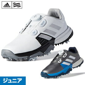 アディダスゴルフ日本正規品Jr adipower Boa(ジュニア アディパワー ボア)ジュニアモデルソフトスパイクゴルフシューズ「WI901」【あす楽対応】