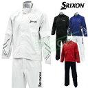 ダンロップ日本正規品SRIXON(スリクソン)レイン上下セット(メンズ)レインジャケット&パンツ「SMR6000」【あす楽…