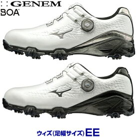 【2E】ミズノゴルフ日本正規品 GENEM009 BOA(ジェネムボア) ソフトスパイクゴルフシューズ 2019モデル 「51GP1900」 【あす楽対応】