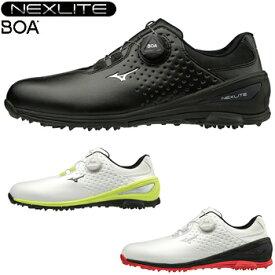 【3E】ミズノゴルフ日本正規品 NEXLITE006 BOA(ネクスライトボア) スパイクレスゴルフシューズ 2019モデル 「51GM1920」 【あす楽対応】