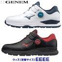 【【最大3555円OFFクーポン】】【4E】MIZUNO(ミズノゴルフ)日本正規品 GENEM010 BOA(ジェネムボア) スパイクレスゴル…