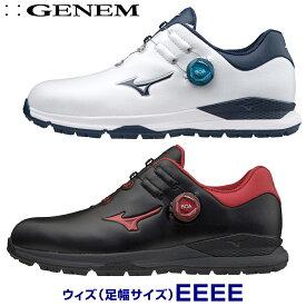 【4E】MIZUNO(ミズノゴルフ)日本正規品 GENEM010 BOA(ジェネムボア) スパイクレスゴルフシューズ 2020新製品 「51GQ2000」 【あす楽対応】