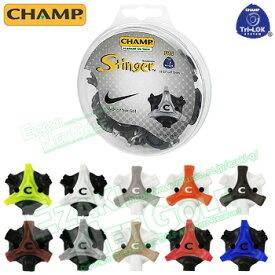 CHAMP(チャンプ)日本正規品 スコーピオン スティンガー ゴルフ鋲(交換用ソフトスパイク) 「Tri-LOK (18個入)」 【あす楽対応】