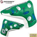 【限定品】 Odyssey(オデッセイ)日本正規品 F Blade Putter Cover Spring 19 JM (エフブレードパターカバースプリング…