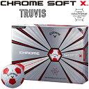 Callaway(キャロウェイ)日本正規品 CHROME SOFT X TRUVIS (クロムソフトエックス トゥルービス) 2018新製品 ゴルフボ…