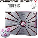 「限定品」 Callaway(キャロウェイ)日本正規品 CHROME SOFT X TRUVIS (クロムソフトエックス トゥルービス) 2018新製…