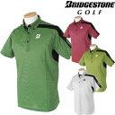 BridgestoneGolfブリヂストンゴルフウエア半袖ポロシャツDGM23A「春夏ゴルフウエアs7」【あす楽対応】