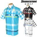 BridgestoneGolfブリヂストンゴルフウエア半袖ポロシャツDGM30A「春夏ゴルフウエアs7」【あす楽対応】