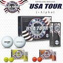 2017新製品USA TOURDISTANCE +αゴルフボール1ダース(12個入)【あす楽対応】