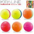 キャスコKIRALINE(キラライン)ゴルフボール半ダース「2球セット×3」【あす楽対応】