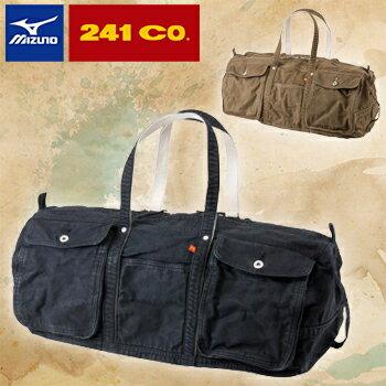 ミズノゴルフ日本正規品ミズノ×241 CO.ボストンバッグ「5LJB152000」【あす楽対応】
