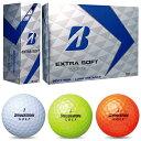 2017新製品ブリヂストン日本正規品EXTRA SOFT(エクストラソフト)ゴルフボール1ダース(12個入)【あす楽対応】