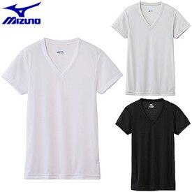 MIZUNO(ミズノ)日本正規品 ドライベクターエブリ Vネック半袖シャツ 「C2JA6101」 【あす楽対応】