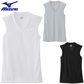 MIZUNO(ミズノ)日本正規品 ドライベクターエブリ Vネックノースリーブシャツ 「C2JA6102」 【あす楽対応】