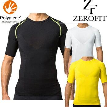 イオンスポーツ男女兼用ZEROFIT(ゼロフィット)ENERGY WEARスマートウォーリアーズエナジーウェアショートスリーブクルーネック「ZUSW15」【あす楽対応】
