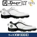 FOOTJOYフットジョイ日本正規品SPORT LT Boa(スポーツエルティーボア)ソフトスパイクゴルフシューズウィズ:XW(EEE)【あす楽対応】