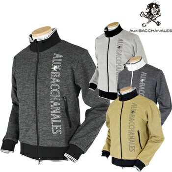AUX BACCHANALES(オーバカナル)フルジップジャケットM162K10「秋冬ゴルフウエアw7」【あす楽対応】