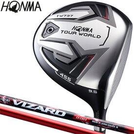 HONMA GOLF本間ゴルフ日本正規品TOUR WORLD(ツアーワールド)TW737 455ドライバーVIZARD EX-C 65カーボンシャフト【あす楽対応】