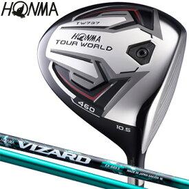 HONMA GOLF(本間ゴルフ)日本正規品 TOUR WORLD(ツアーワールド) TW737 460ドライバー VIZARD EX-A55カーボンシャフト 【あす楽対応】