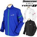 【限定品】BridgestoneGolf ブリヂストンゴルフ 秋冬ウエア TOUR B(ツアービー) 前開きブルゾン 6GET1D 【あす楽対応】