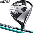 HONMA GOLF(本間ゴルフ)日本正規品 TOUR WORLD(ツアーワールド) TW737 FW フェアウェイウッド VIZARD EX-A55カーボン…