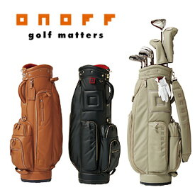 ONOFF(オノフ)日本正規品レボレザーシリーズキャディバッグ「OB1017」 【あす楽対応】