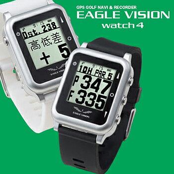2017モデル高性能GPS搭載距離測定器EAGLEVISIONwatch4(イーグルビジョンウォッチフォー)ゴルフナビゲーションEV-717【あす楽対応】