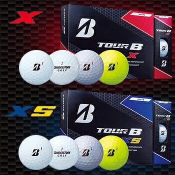 2017モデルブリヂストンゴルフ日本正規品TOUR B Xシリーズゴルフボール1ダース(12個入)【あす楽対応】