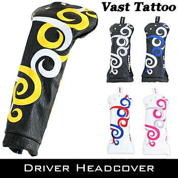 2017モデルJADO(ジャド)Vast Tattoo(ヴァストタトゥー)シリーズドライバー用ヘッドカバー「JGHC7871D」【あす楽対応】