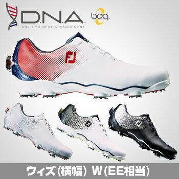 2017新製品FOOTJOYフットジョイ日本正規品DNABoa(ディーエヌエーボア)ソフトスパイクゴルフシューズウィズ:W(EE)【あす楽対応】